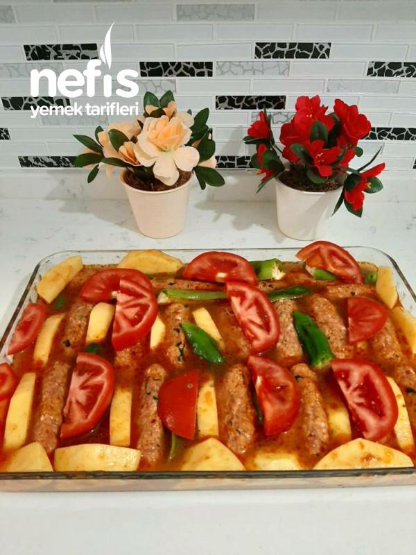 Fırında Sebzeli Köfte