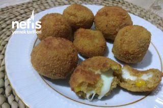Ara Sıcak Peynirli Patates Topları Tarifi
