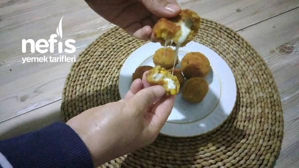 Ara Sıcak Peynirli Patates Topları
