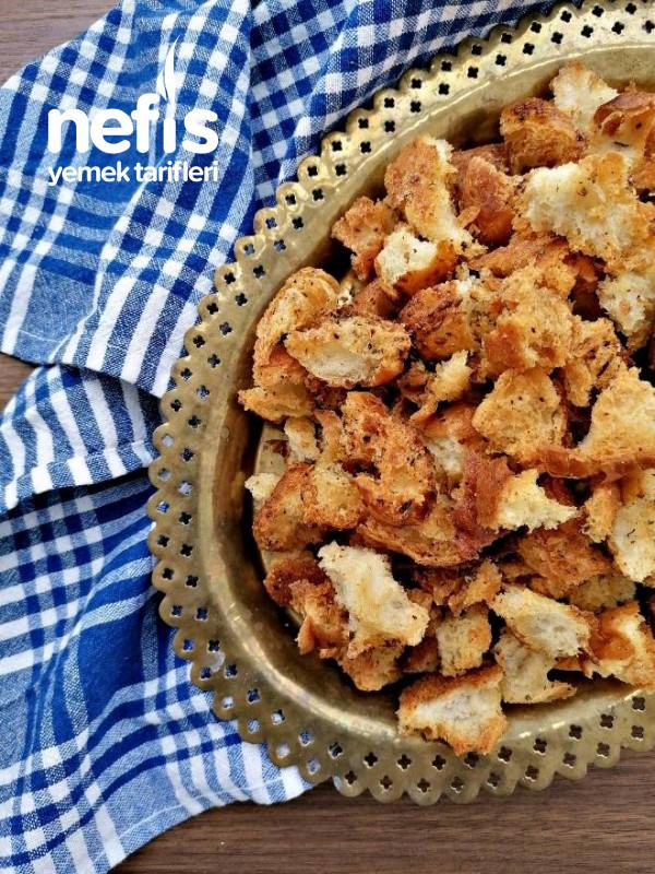 Artan Ekmeklerden Baharatlı Kıtır Ekmek Cips Tadında(kruton)