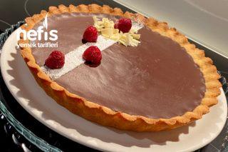 Çok Pratik Çikolatalı Tart Tarifi