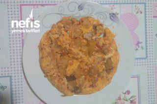 Kereviz Yemeğinden Sucuklu Omlet Tarifi
