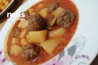 Köfteli Patates Sulusu Tarifi