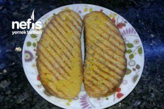 Tost Makinesinde Yumurtalı Ekmek Tarifi