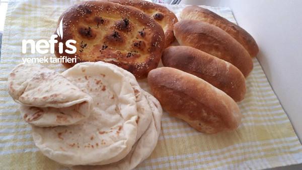 Tek Hamur Çeşit Çeşit Ekmek
