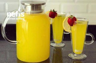 2 Limon 1 Portakal İle Limonata (2.5 Litre) Tarifi