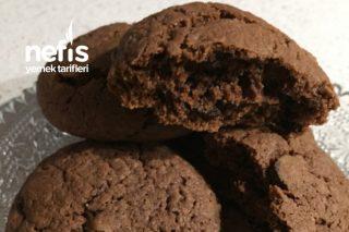 Çikolatalı Cookies Kurabiye Tarifi