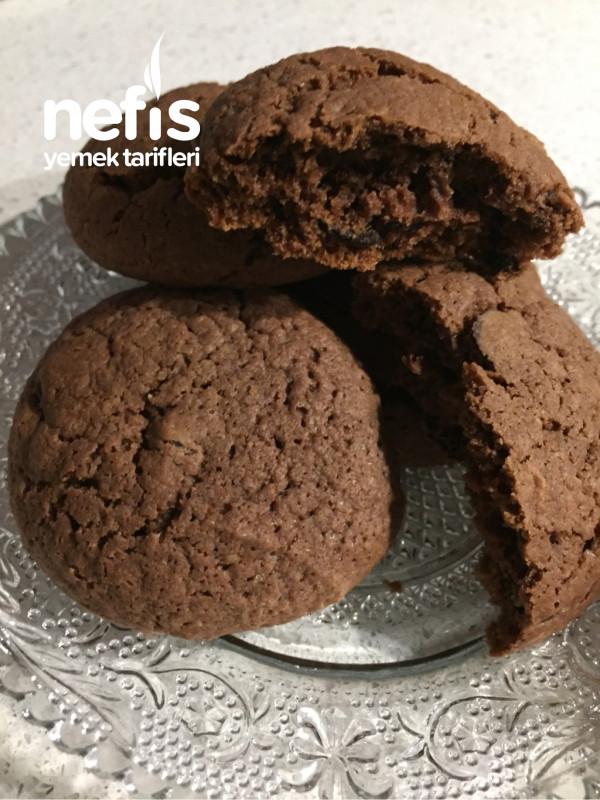 Çikolatalı Cookies Kurabiye