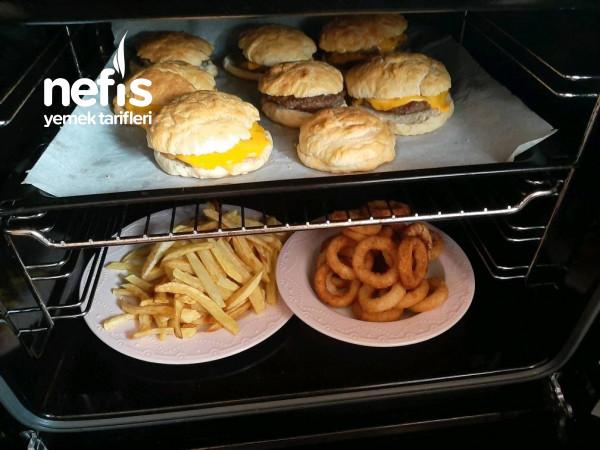 Ev Yapımı Hamburger Menü