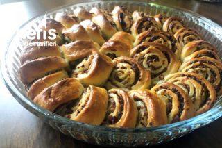 Şık Görünümü ve Nefis Lezzetiyle Börek Poğaça Tarifi (Videolu)