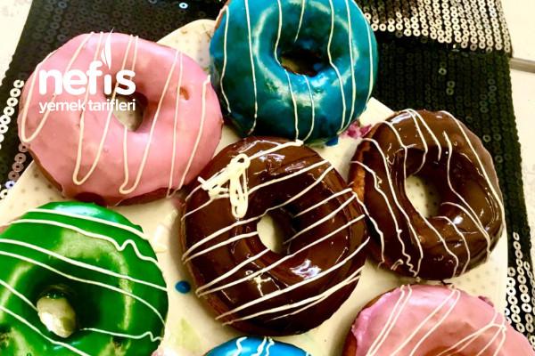 Tadı Görüntüsü Şahane Donut Tarifi