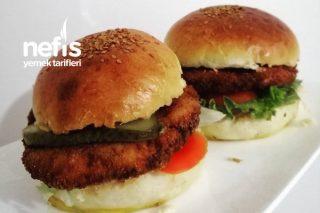 Tavuk Burger (Chıcken Burger) Tarifi