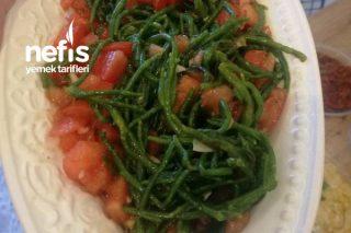 Zeytinyağlı Deniz Börülcesi Salatası Tarifi