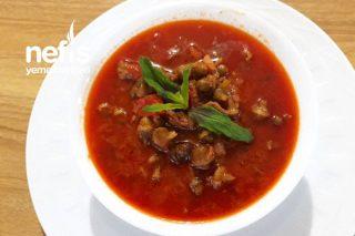 Bamya Çorbası (Konya Yöresel Yemeği) Tarifi