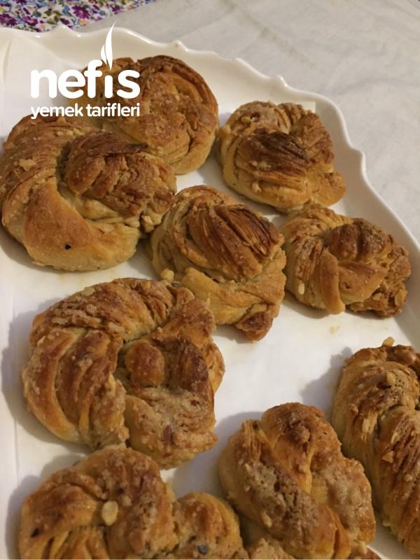 Çıtır Çıtır Tahinli Fındıklı Çörekler
