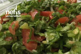 Harika Salata (5 Dakikada Hazır) Tarifi
