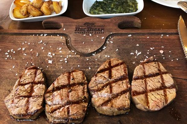 beş bıçak steakhouse