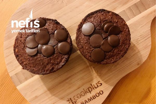 Kakaolu Diyet Cupcake (Nohutlu Tarif) Tarifi