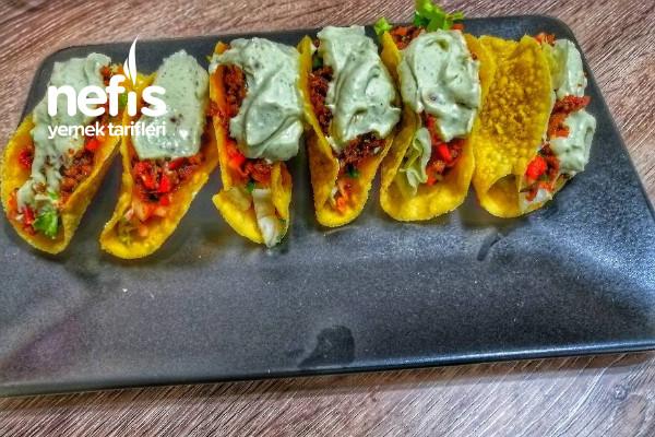 Taco (Meksika Yemeği) Geleneksel Tarif