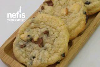 Chocolate Chip Cookies | Starbucks Kurabiye (Sakız Kıvamlı) Tarifi