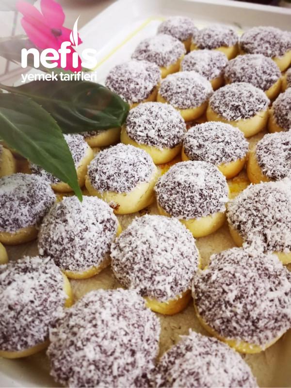 Cikolata Soslu Kurabiye (Lokmalik)