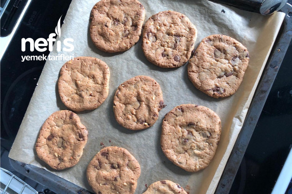 Çok Kolay Bol Çikolatalı Cookies