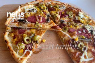 Ev Yapımı Pizza Yediğiniz En İyi Pizza (Videolu) Tarifi