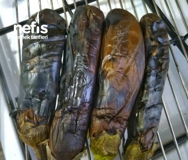 Fırında Patlıcan Beğendili Mantar