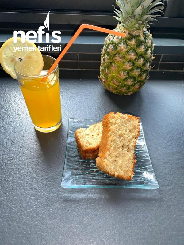 Limonlu Ve Susamlı Kek