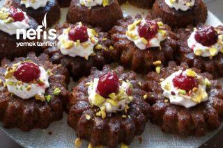 Muffin Kalıbında Haşhaşlı Revani Tarifi