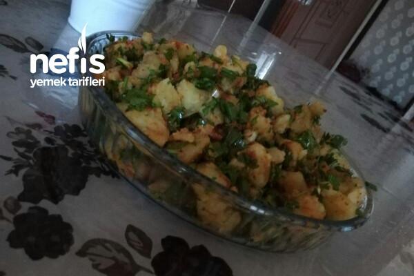 Patates Salatası(Muhteşem Oldu) Tarifi