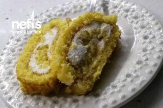 Portakal Dilimli Rulo Pasta (Ev Yapımı Tasarım Pasta) Tarifi