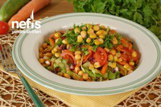 Yemelere Doyamayacağınız Mısırlı Salata Tarifi (videolu)