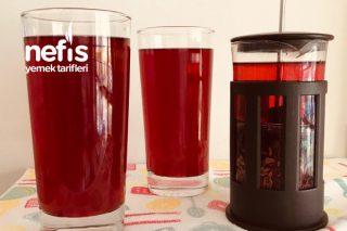 Hibiskuslu Soğuk Çay Tarifi