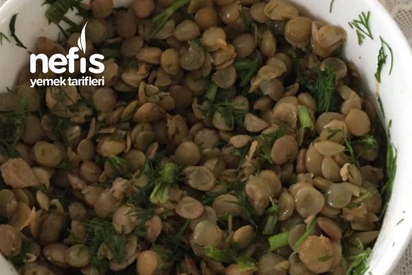 Basit Mercimek Salatası Tarifi