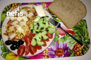 Emziren Anneler İçin Diyet Kahvaltı Tarifi
