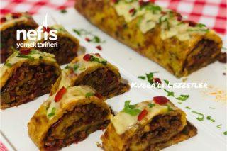 Kıymalı Patates Rulo Tarifi