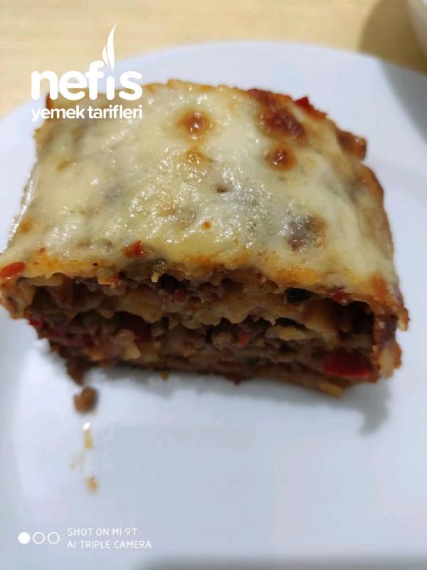 Kıymalı Rulo Patates