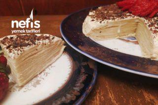 Muhteşem Krep Pasta Tarifi