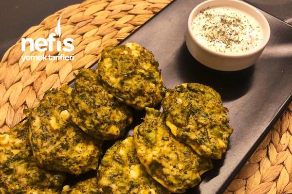 Brokoli Mücver (Yağ Yok, Kızartmak Yok) Tarifi