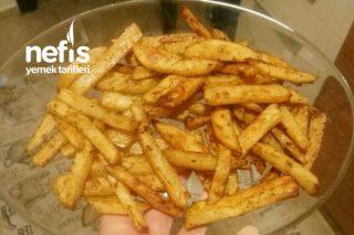 Fırında Çıtır Patates (Kızartma Tadında) Tarifi