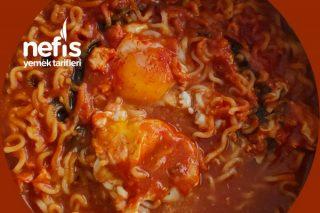 Kore Yemeği Ramen Noodle Tarifi