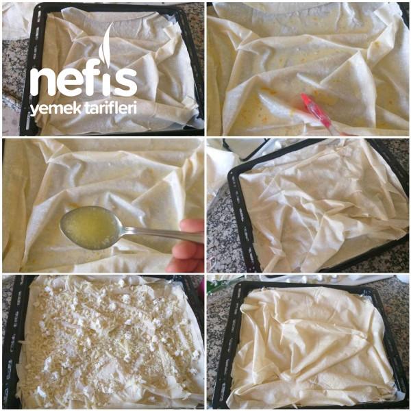 Su Böreği Tadında Kolay Peynirli Börek (Kolay Yapım – Lezzet Sırrı Sosunda)