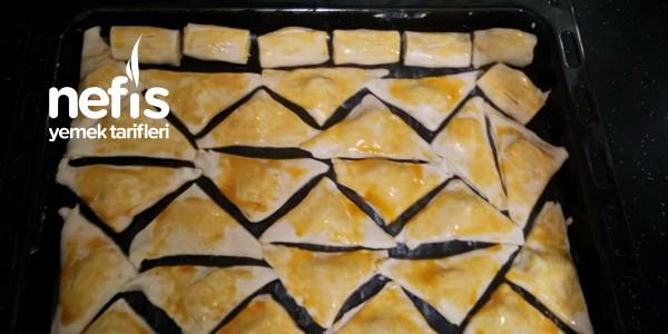 Sucuklu Milföy Börek (40 Adet Çıkar)