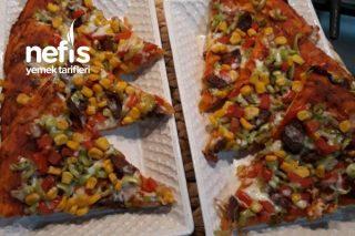 Evde Kolay Pizza (Hazır Pizzaya Elveda) Tarifi
