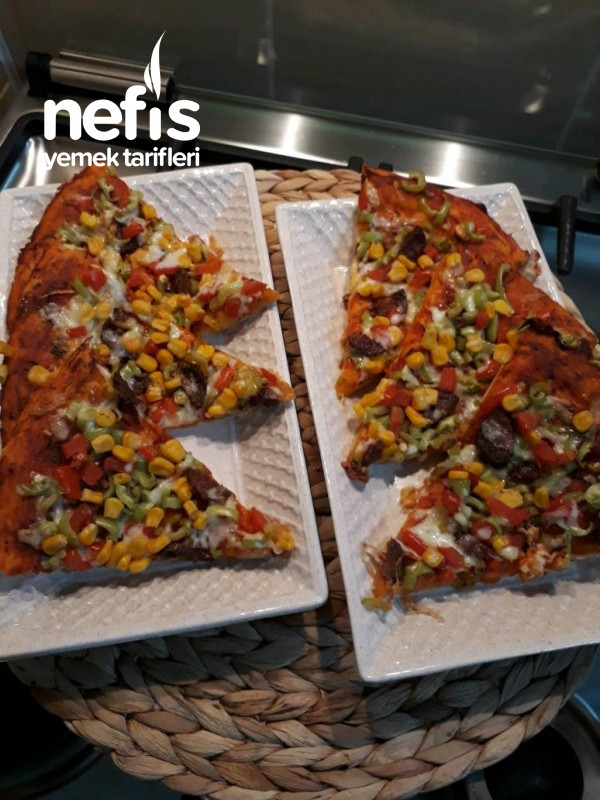 Evde Kolay Pizza (Hazır Pizzaya Elveda)