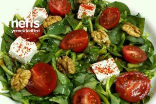 Peynirli Ve Cevizli Semizotu Salatası Tarifi
