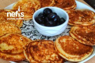 Sabah Kahvaltısı Peynirli Pankek Tarifi
