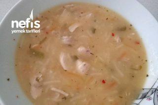 Şehriyeli Tavuk Çorbası (Leziz Ve Besleyici) Tarifi