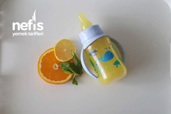 Yaz Serinliği C Vitamini Bebe Limonata +10 Ay Tarifi